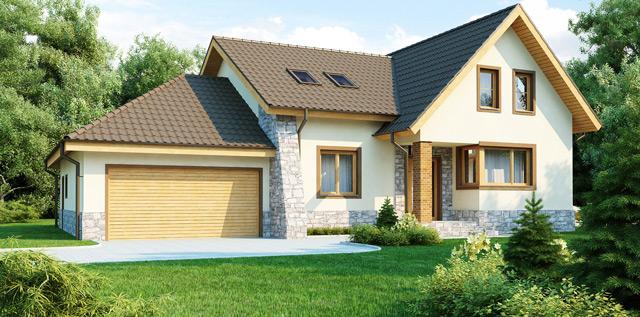 Встроенный гараж может являться пристройкой или же быть одним из помещений жилища
