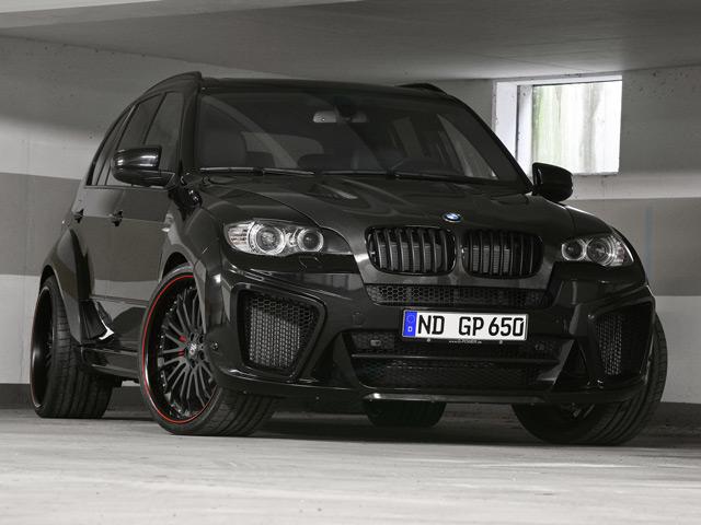 Немецкийавтомобиль BMW X6 Typhoon RS Ultimate V10 по своим характеристикам немного не дотягивает до лидера