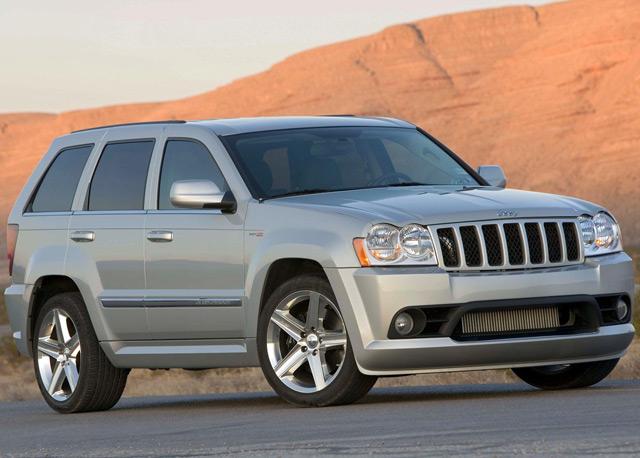Jeep Grand Cherokee SRT600 способен превзойти по скорости некоторые спорткары