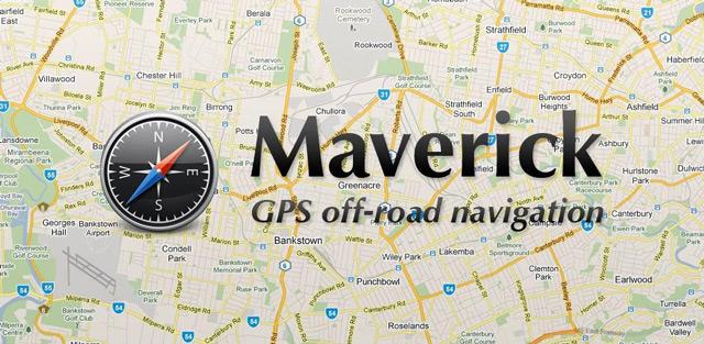 Maverick GPS Navigation имеет простой и понятный интерфейс