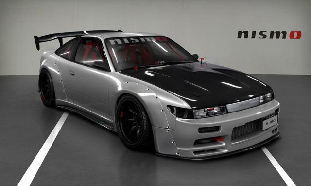 Автомобиль Nissan Sil 80 занимает достойное место среди популярных моделей для дрифта