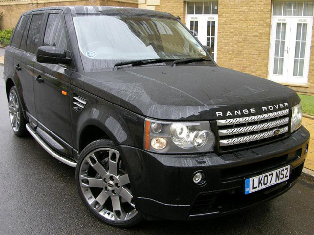 Range Rover Sport Supercharged V8 - это внедорожник со спортивным акцентом