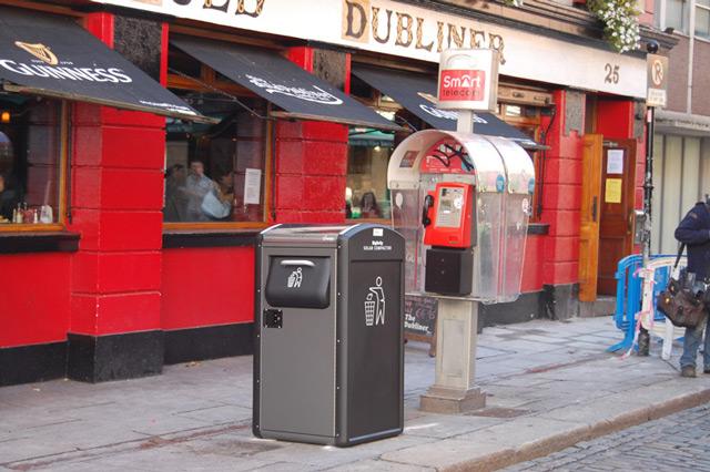 Высокотехнологичные урны будут самостоятельно прессовать и упаковывать мусор