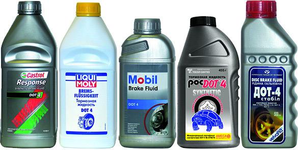 Правильный выбор тормозной жидкости улучшит уровень активной безопасности автомобиля