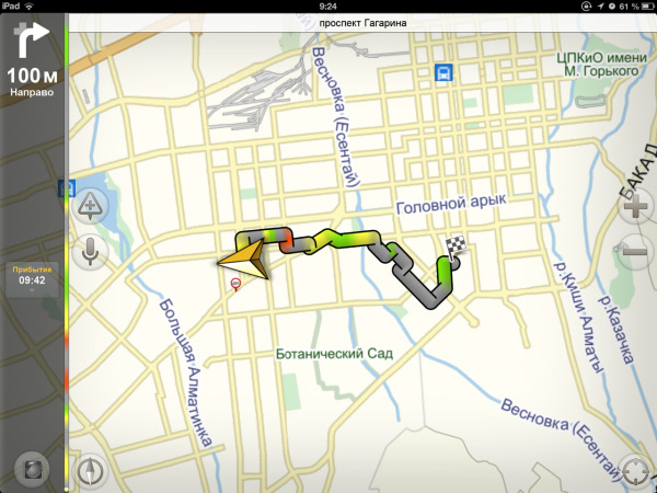 Яндекс-карты – приложение которое мало чем уступает конкуренту от Google