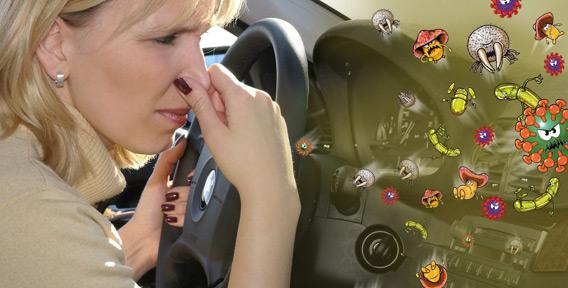 Воздух в новом автомобиле может содержать повышенное количество вредных веществ