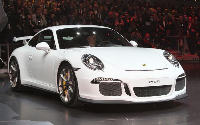 Внешний вид автомобиляPorsche 911 GT3