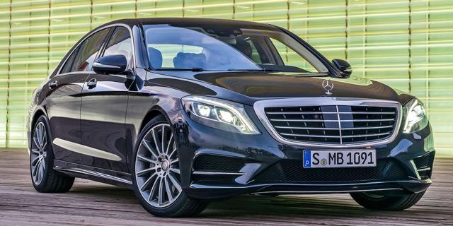 Внешний вид автомобиляMercedes-Benz S-Class