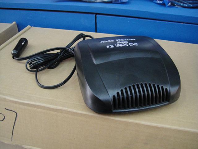 Самыми популярными являются плоские автомобильные вентиляторы с обогревом