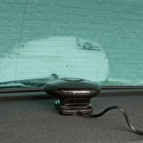 Автомобильный вентилятор с функцией обогрева поможет быстро и без больших затрат топлива разморозить стёкла