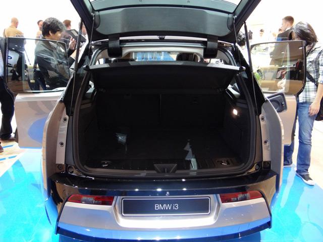 Багажник автомобиляBMW i3