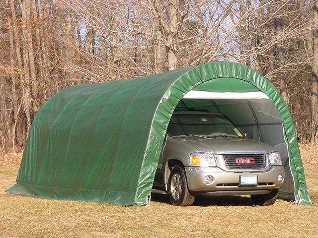 Переносной гараж - это практичный и экономичный вариант для вашего автомобиля