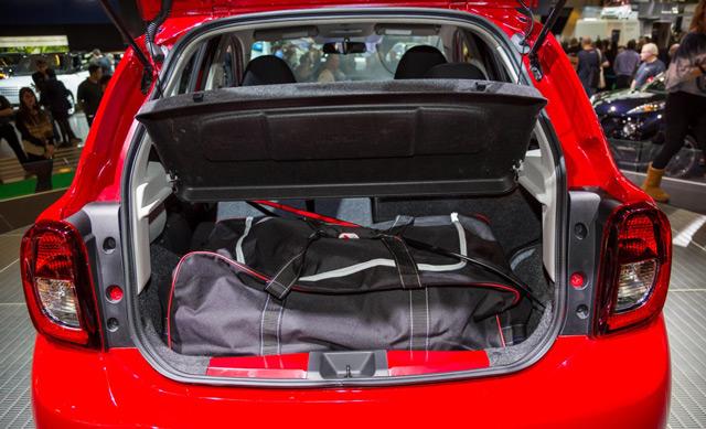 Багажник автомобиляNissan Micra