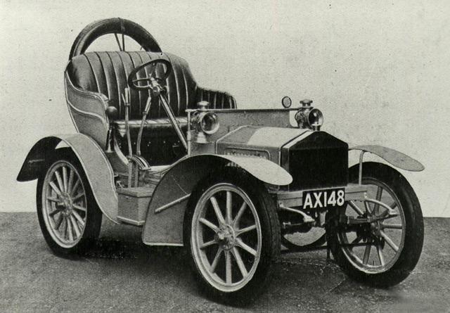 Один из первых автомобилейРойса