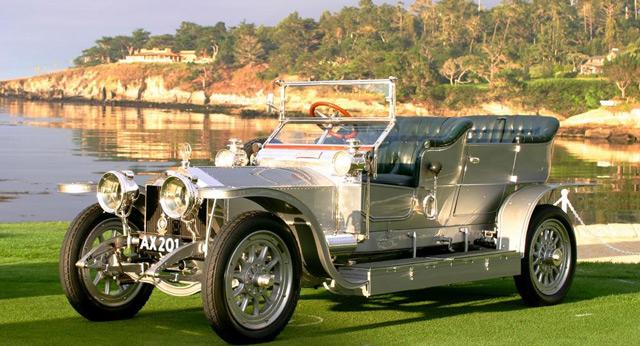 АвтомобильSilver Ghost 1906 года