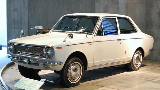 АвтомобильToyotaCorolla1966