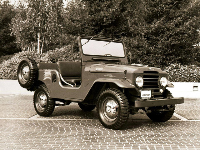 АвтомобильТойота Ленд Крузер BJ20
