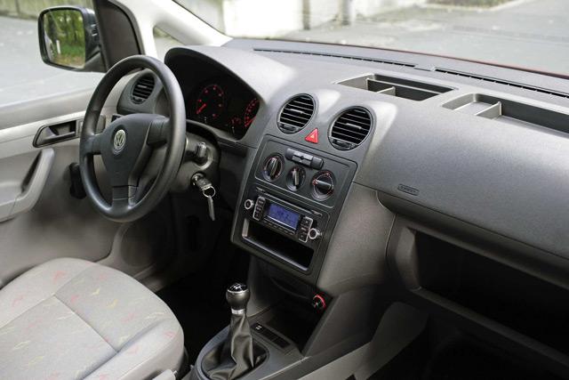 В салоне автомобиляVolkswagen Caddy Maxi