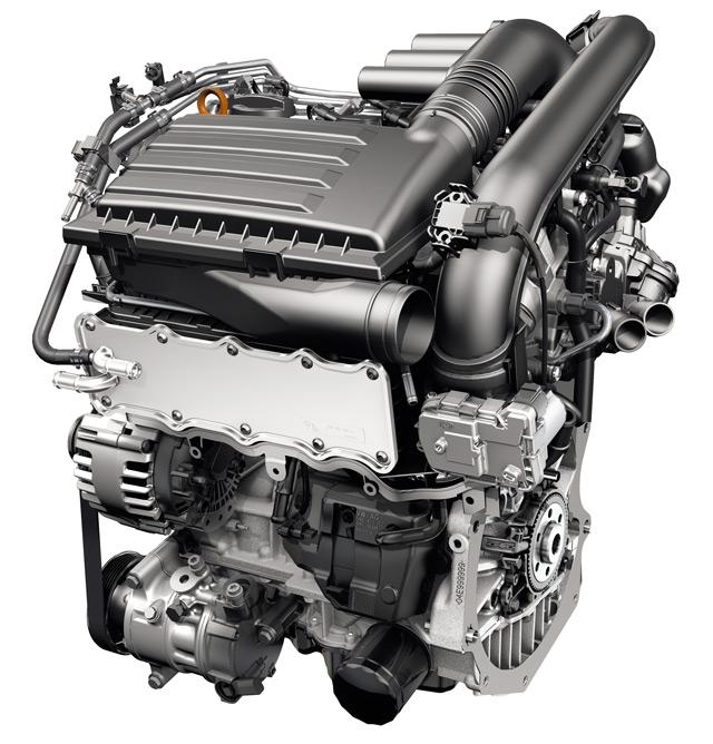 Двигатель1,4 TSIот Volkswagen