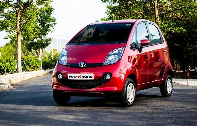 GenX Tata Nano имеет значительно улучшенный дизайн
