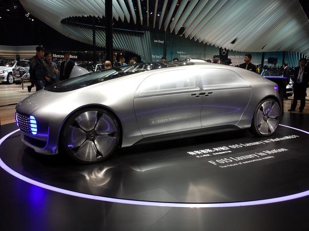 Концепт Mercedes F 015