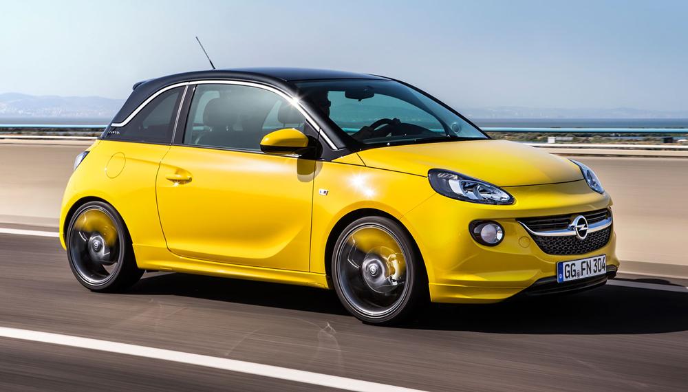 Opel Adam сизменённой трансмиссией