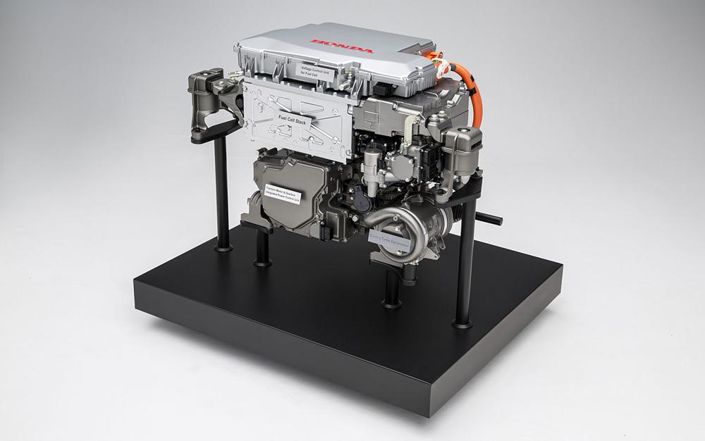 Силовая установка на водородных топливных элементах