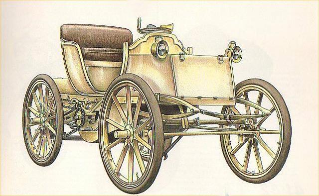 Автомобиль Гастона де Шаслу-Лоба