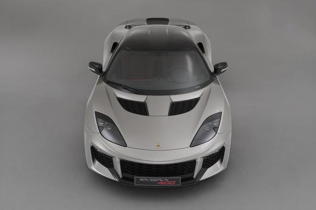 Lotus Evora 400 — вид спереди