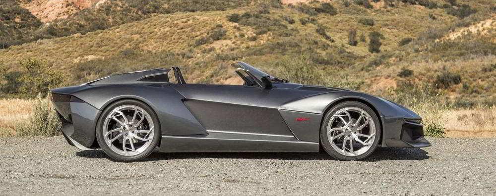 Автомобиль Rezvani Beast: вид сбоку