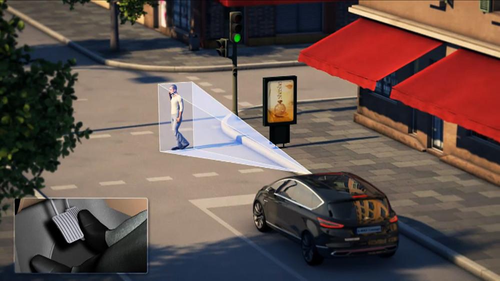 Вскоре все модели марки Ford будут оборудованы функцией распознавания пешеходов