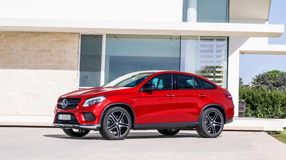 GLE Coupe поступит в продажу уже в августе