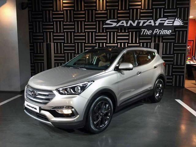 Hyundai Santa Fe в новом дизайне за 2016 год