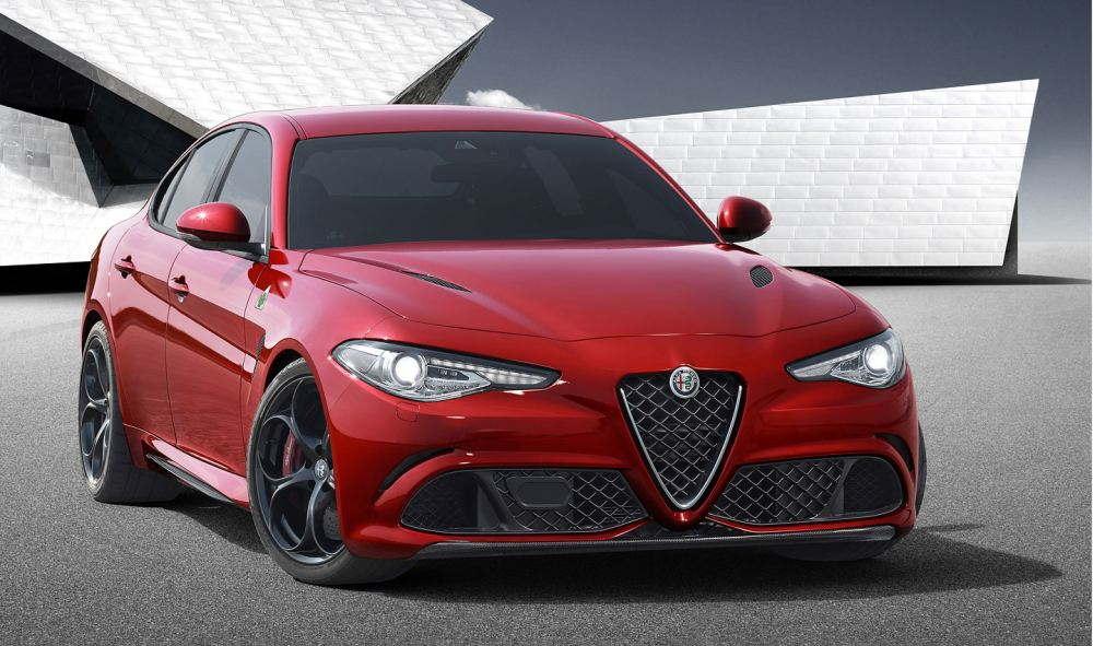 Концепт Alfa Romeo Giulia