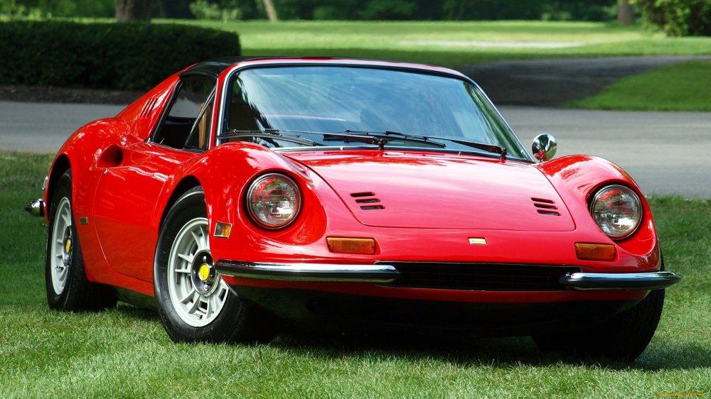 Легендарная спортивная машина Ferrari