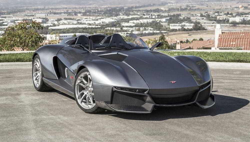 Лёгкий и одновременно мощный автомобиль Rezvani Beast