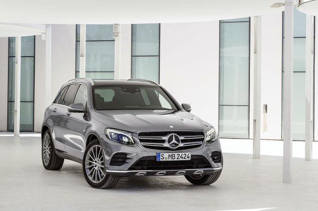 Новый кроссовер Mercedes-Benz GLC