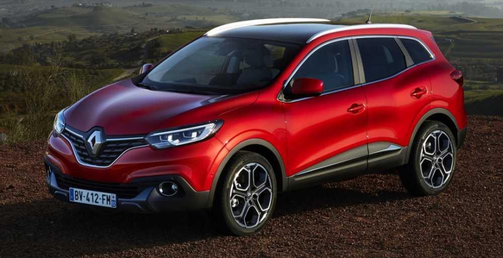 Renault Kadjar: вид сбоку