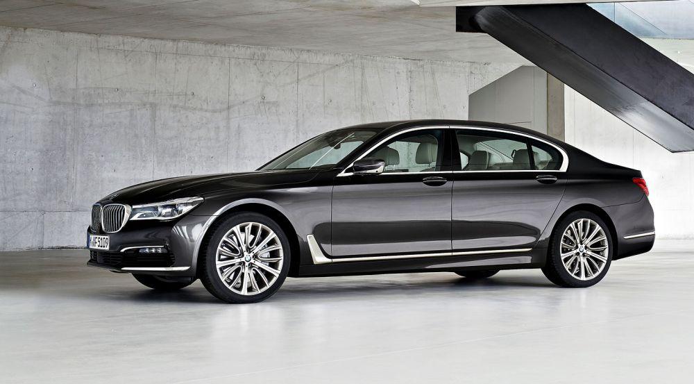 Самая новая версия BMW 7