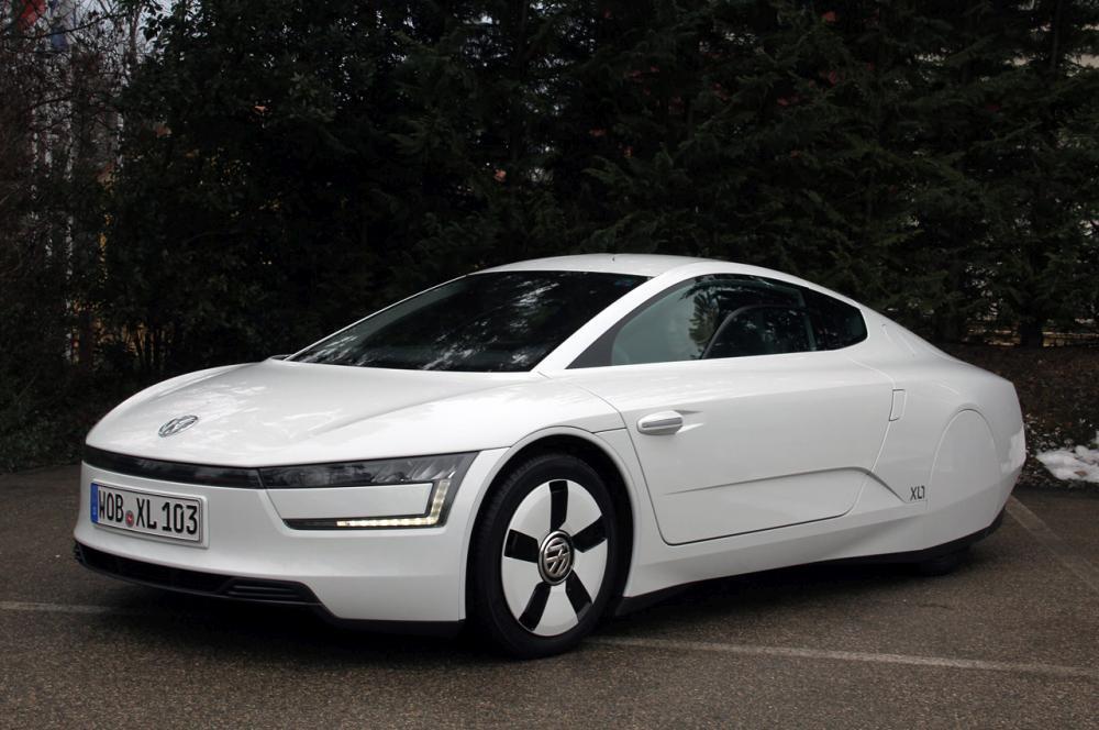 Суперэкономичный Volkswagen XL1