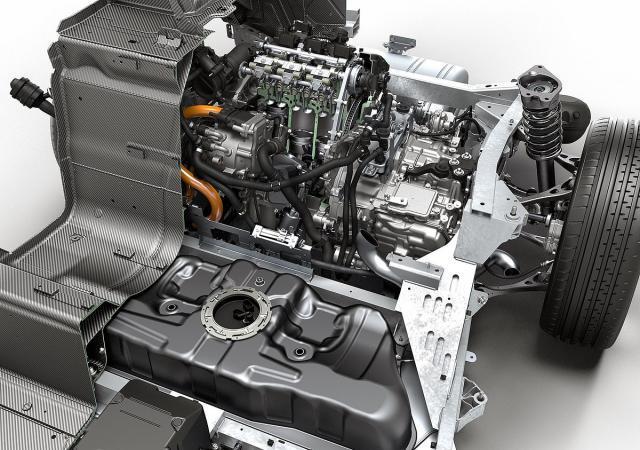 Трёхцилиндровый двигатель БМВ 1.5 в модели i8