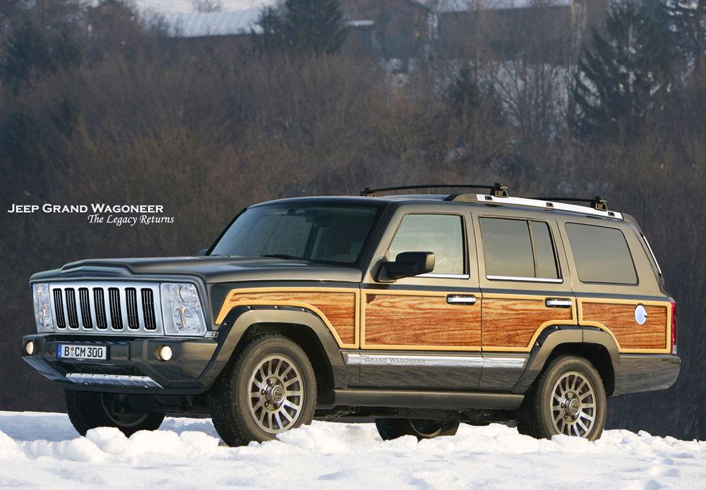 Wagoneer станет конкурентом Range Rover