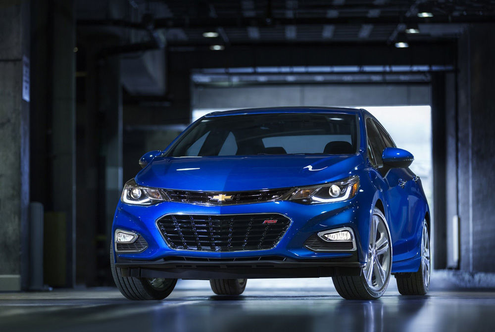 В Сан-Франциско был презентован новый Chevrolet Cruze