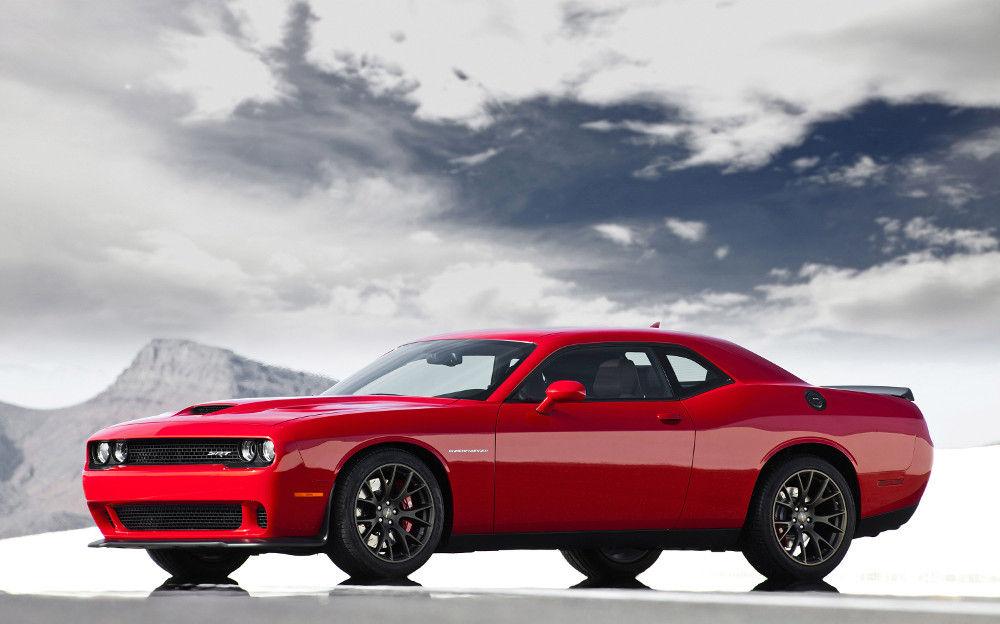 Первый Dodge Challenger SRT Hellcat был презентован в сентябре 2014