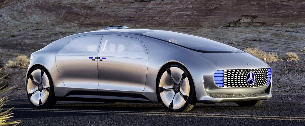 Автономный автомобиль отMercedes-Benz