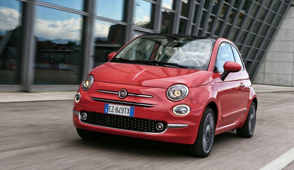 Fiat 500 подвергся рестайлингу