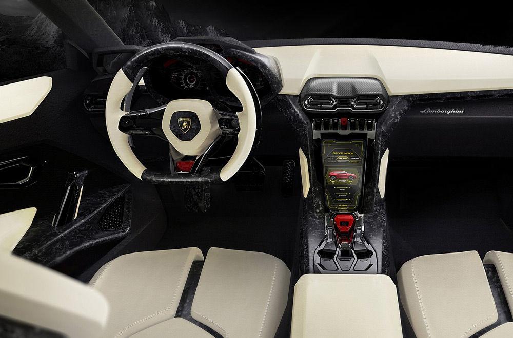 Lamborghini-Urus-салон