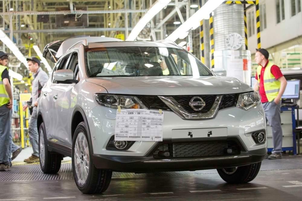 Nissan X-Trail сходит с конвейера