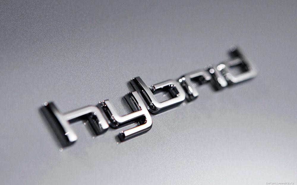 Надпись hybrid