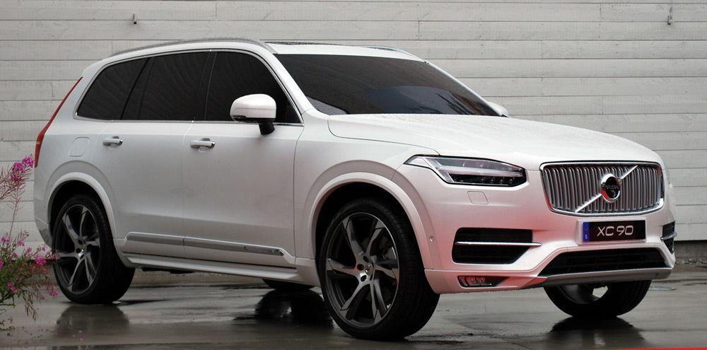автомобиль-Volvo-XC90